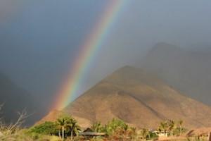 Maui 2013 - Rainbow near Lahaina